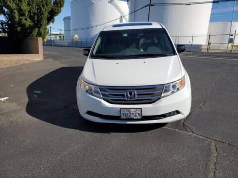 2012 Honda Odyssey for sale at Regal Autos Inc in West Sacramento CA