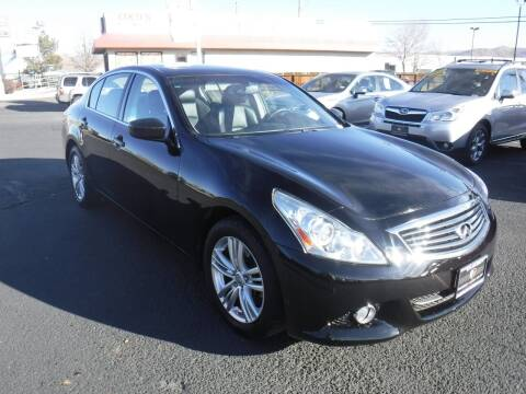 2013 Infiniti G37 Sedan for sale at Budget Auto Sales in Carson City NV