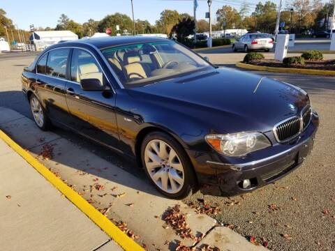 2006 BMW 7 Series for sale at RVA Automotive Group in North Chesterfield VA