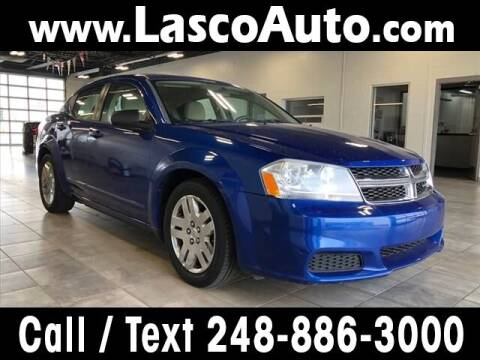 2012 Dodge Avenger for sale at Lasco of Waterford in Waterford MI