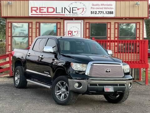 2011 Toyota Tundra for sale at REDLINE AUTO SALES LLC in Cedar Creek TX