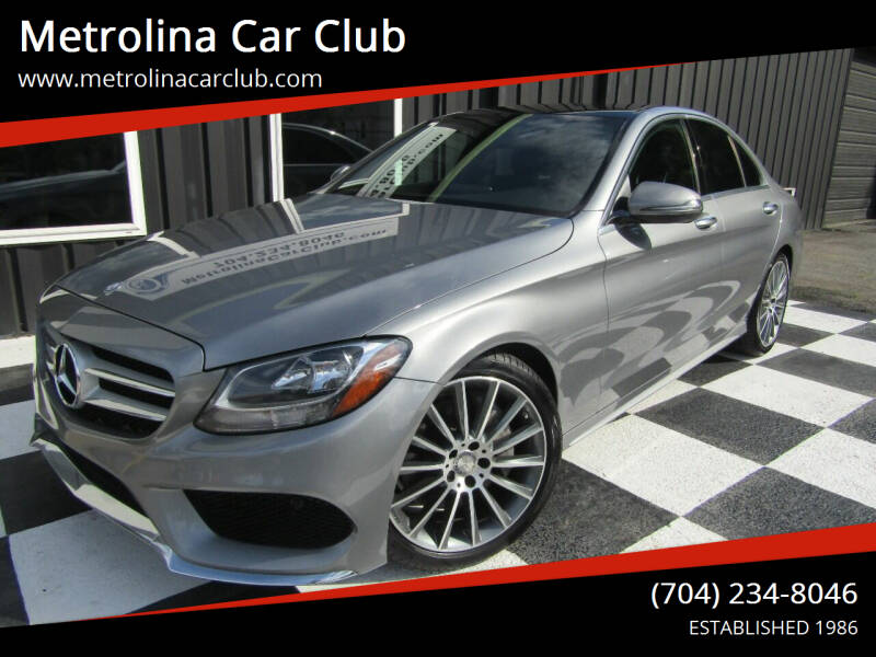 2016 Mercedes-Benz C-Class for sale at Metrolina Car Club in Matthews NC