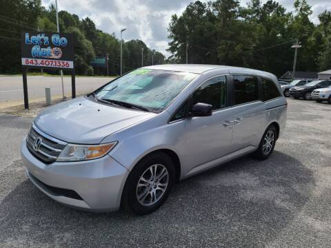 2011 Honda Odyssey for sale at Let's Go Auto in Florence SC