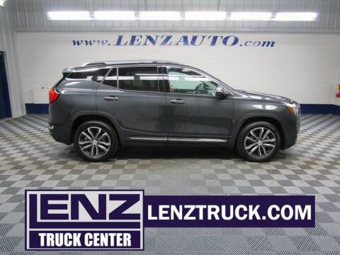 2018 GMC Terrain for sale at LENZ TRUCK CENTER in Fond Du Lac WI