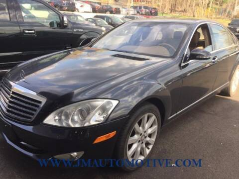 2008 Mercedes-Benz S-Class for sale at J & M Automotive in Naugatuck CT