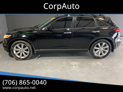2003 Infiniti FX35 for sale at CorpAuto in Cleveland GA