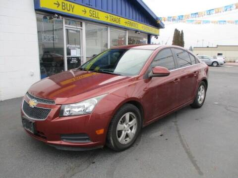 2013 Chevrolet Cruze for sale at Affordable Auto Rental & Sales in Spokane Valley WA