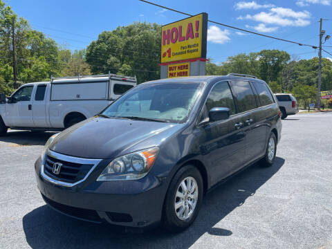 2010 Honda Odyssey for sale at No Full Coverage Auto Sales in Austell GA