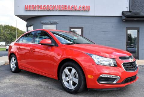 2016 Chevrolet Cruze Limited for sale at Heritage Automotive Sales in Columbus in Columbus IN