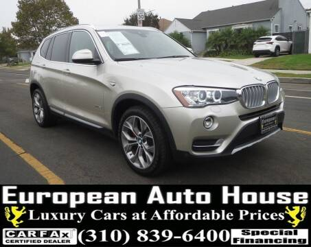 2017 BMW X3 for sale at European Auto House in Los Angeles CA
