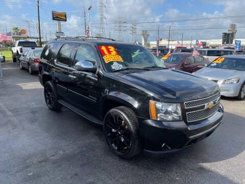 2013 Chevrolet Tahoe for sale at Texas 1 Auto Finance in Kemah TX