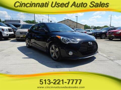2015 Hyundai Veloster for sale at Cincinnati Used Auto Sales in Cincinnati OH