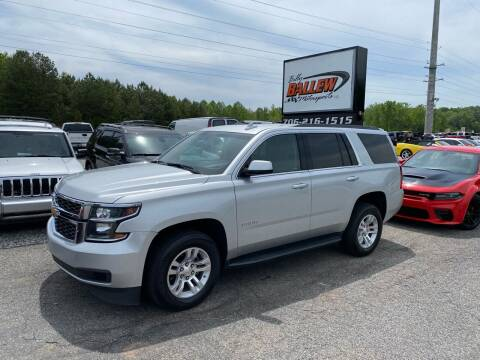 2016 Chevrolet Tahoe for sale at Billy Ballew Motorsports in Dawsonville GA