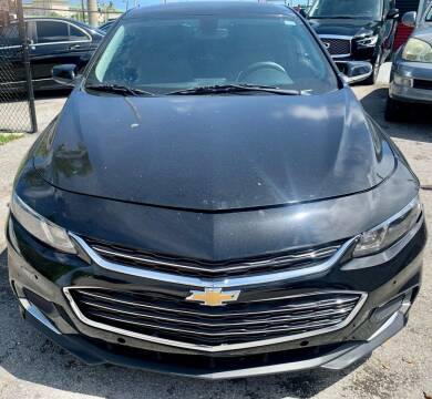 2017 Chevrolet Malibu for sale at Naber Auto Trading in Hollywood FL