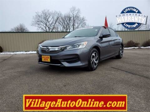 2017 Honda Accord for sale at Village Auto in Green Bay WI