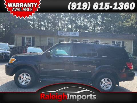 2001 Toyota Sequoia for sale at Raleigh Imports in Raleigh NC
