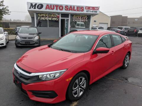 2016 Honda Civic for sale at Mo Auto Sales in Fairfield OH