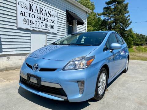 2013 Toyota Prius Plug-in Hybrid for sale at Karas Auto Sales Inc. in Sanford NC