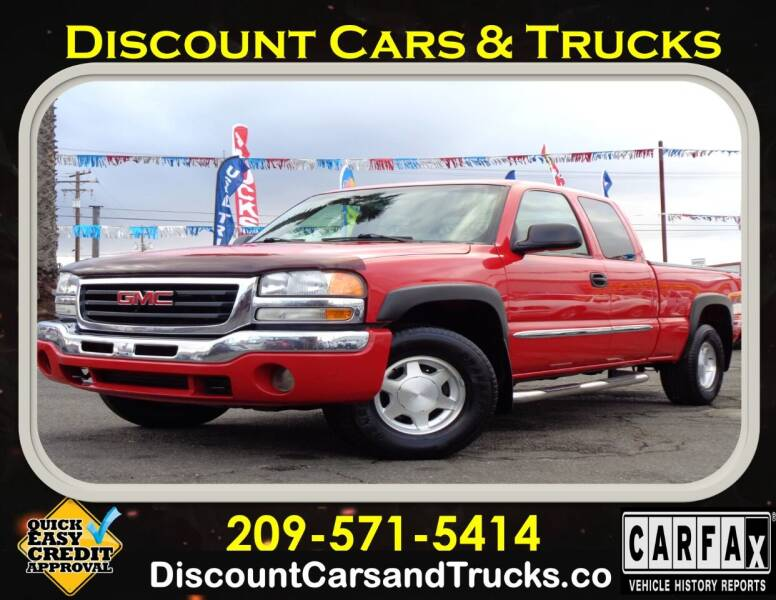 2003 GMC Sierra 1500 for sale at Discount Cars & Trucks in Modesto CA