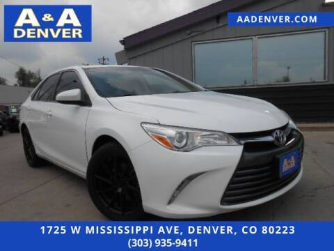 2015 Toyota Camry for sale at A & A AUTO LLC in Denver CO