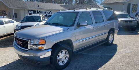 2005 GMC Yukon XL for sale at Mama's Motors in Greer SC