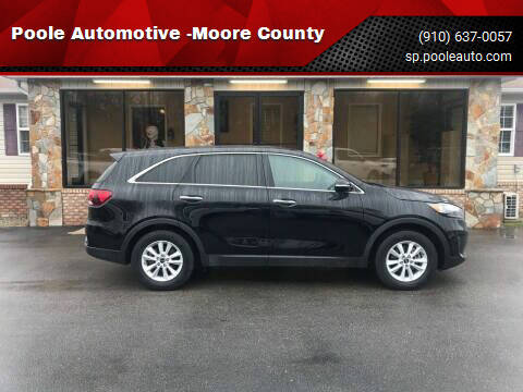 2020 Kia Sorento for sale at Poole Automotive -Moore County in Aberdeen NC
