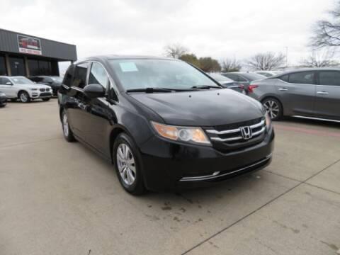 2014 Honda Odyssey for sale at KIAN MOTORS INC in Plano TX