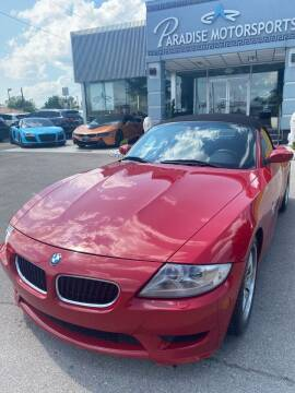 2007 BMW Z4 M for sale at Paradise Motor Sports LLC in Lexington KY