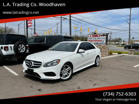 2014 Mercedes-Benz E-Class for sale at L.A. Trading Co. Woodhaven in Woodhaven MI