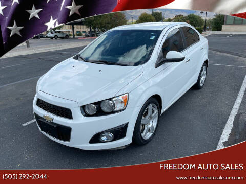 2013 Chevrolet Sonic for sale at Freedom Auto Sales in Albuquerque NM