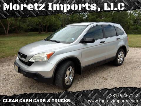2009 Honda CR-V for sale at Moretz Imports, LLC in Spring TX