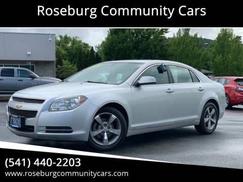 2009 Chevrolet Malibu for sale at Roseburg Community Cars in Roseburg OR