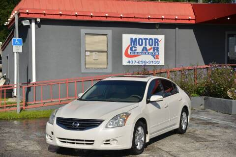 2010 Nissan Altima for sale at Motor Car Concepts II - Kirkman Location in Orlando FL