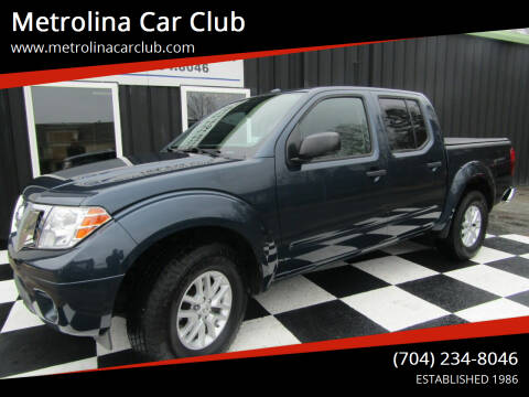 2016 Nissan Frontier for sale at Metrolina Car Club in Matthews NC