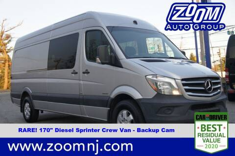 2015 Mercedes-Benz Sprinter Crew for sale at Zoom Auto Group in Parsippany NJ