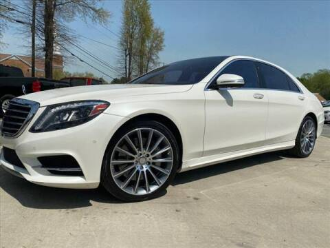 2016 Mercedes-Benz S-Class for sale at iDeal Auto in Raleigh NC