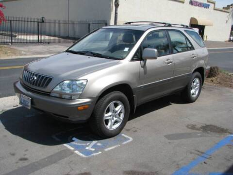 2001 Lexus RX 300 for sale at M&N Auto Service & Sales in El Cajon CA