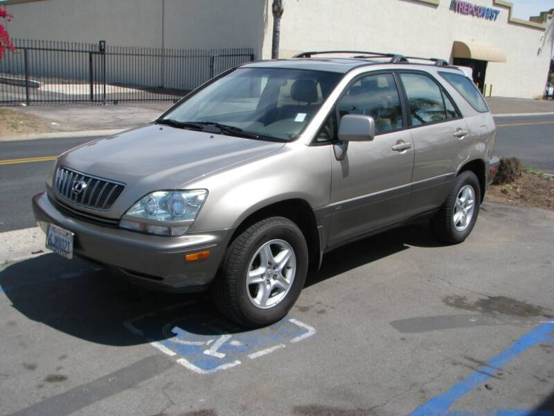 2001 Lexus RX 300 for sale at M&N Auto Service & Sales in El Cajon CA
