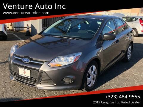 2013 Ford Focus for sale at Venture Auto Inc in South Gate CA