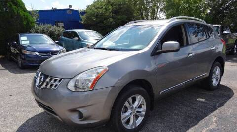 2013 Nissan Rogue for sale at HOUSTON'S BEST AUTO SALES in Houston TX