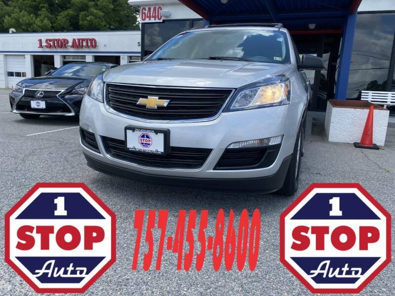 2017 Chevrolet Traverse for sale at 1 Stop Auto in Norfolk VA