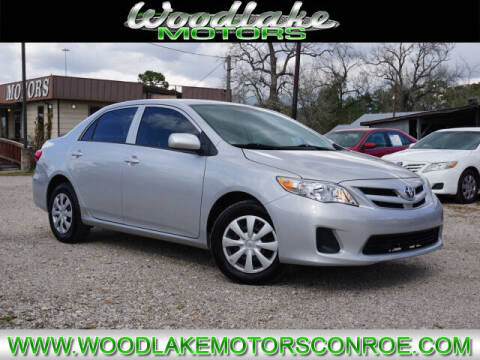 2013 Toyota Corolla for sale at WOODLAKE MOTORS in Conroe TX