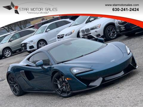 2017 McLaren 570GT for sale at Star Motor Sales in Downers Grove IL