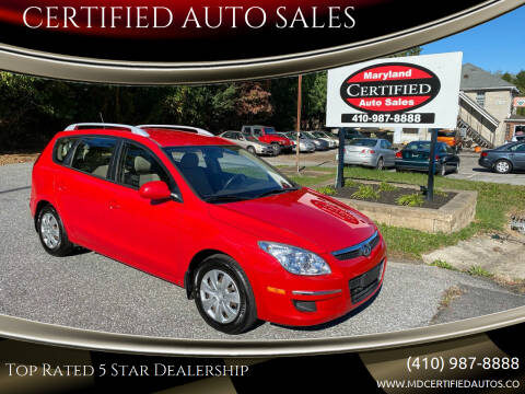2011 Hyundai Elantra Touring for sale at CERTIFIED AUTO SALES in Severn MD