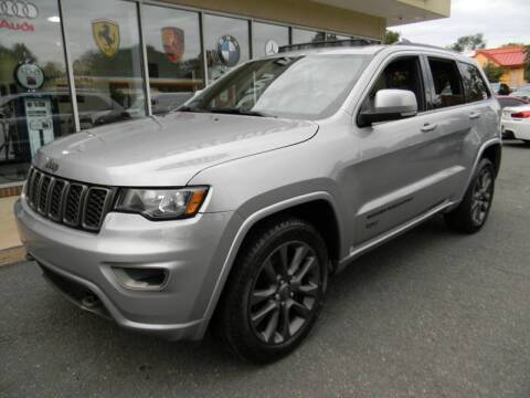 2017 Jeep Grand Cherokee for sale at Platinum Motorcars in Warrenton VA