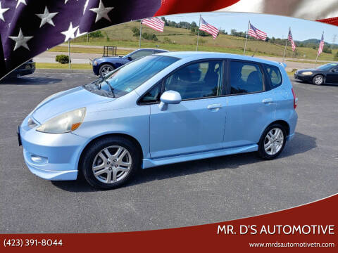 2008 Honda Fit for sale at Mr. D's Automotive in Piney Flats TN