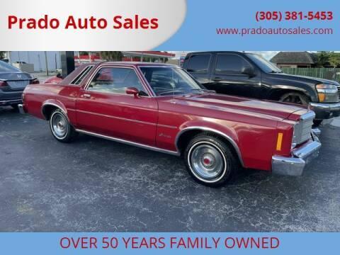 1978 Ford Granada for sale at Prado Auto Sales in Miami FL