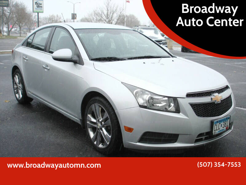 2011 Chevrolet Cruze for sale at Broadway Auto Center in New Ulm MN