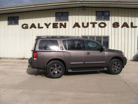 2014 Nissan Armada for sale at Galyen Auto Sales in Atkinson NE