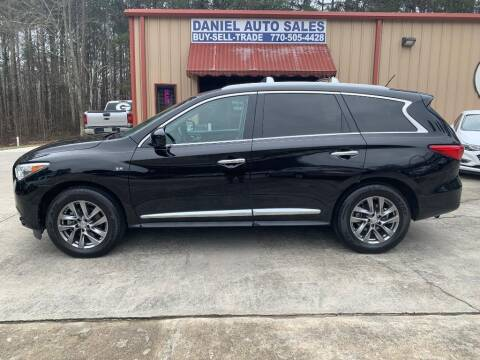 2014 Infiniti QX60 for sale at Daniel Used Auto Sales in Dallas GA